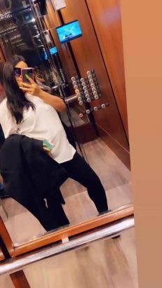 Nina Ivy flaunts her baby bump in new pictures