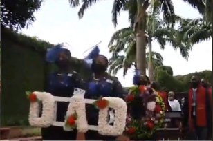 Photos from the burial ceremony of music legend, Victor Olaiya 2